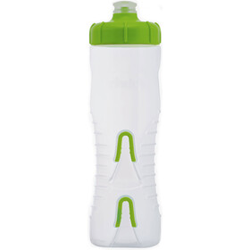 Fabric Cageless Drikkeflaske 750ml, clear/green